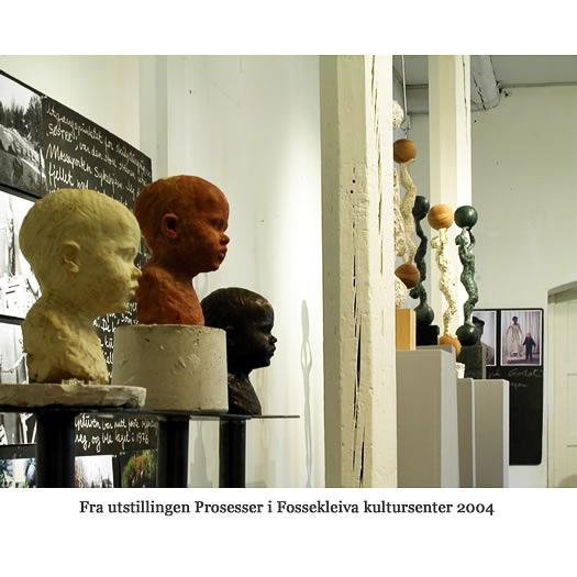 Fra utstillingen Prosessen